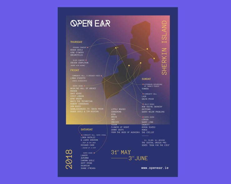 , Open Ear add J Colleran, Donal Dineen, Gadget & The Cloud plus more to their 2019 lineup