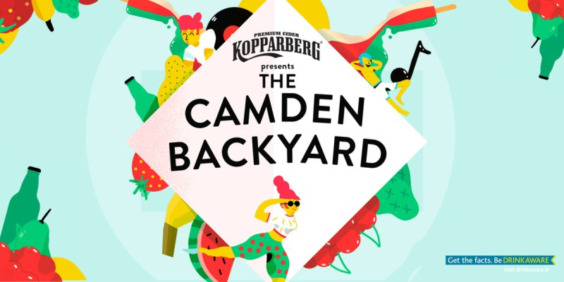 , Kopparberg are putting on 3 nights of music, DJs, comedians, cocktails and food trucks this weekend