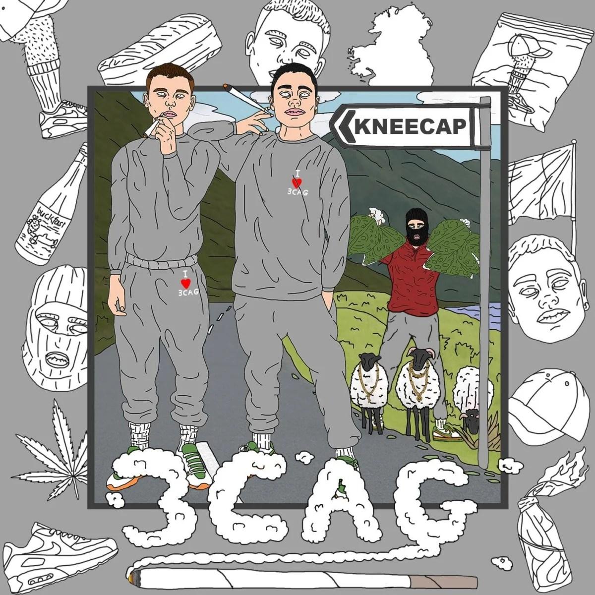 Hip-hop gold as Gaeilge from Belfast trio Kneecap
