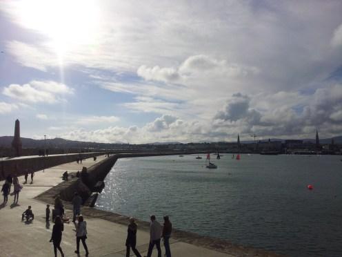 """""""Dun Laoghaire East Pier Stroll"""" County Dublin, Ireland"""
