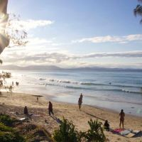Shaking it off with Vitamin D in Byron Bay