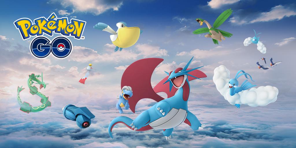 legendary pokémon rayquaza descends