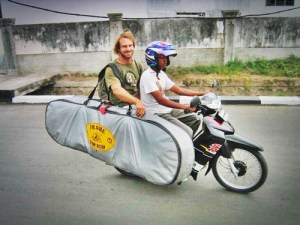 Get a motobike in Indonesia - How to get to Nias Island