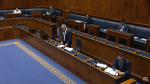 Amendment to Standing Orders Tuesday 31 March 2020