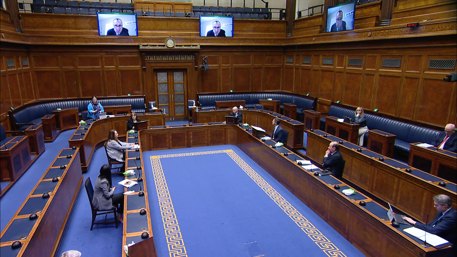 Assembly Commission Question TIme - Tuesday 23rd March 2021