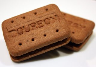 Bourbon Biscuits - Nibble My Biscuit