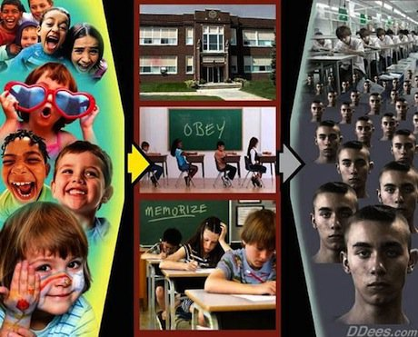 school als opvoedingsfabriek