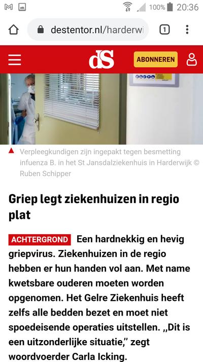 griepgolf nederland