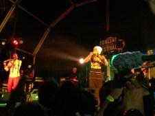Mo'Kalamity no palco