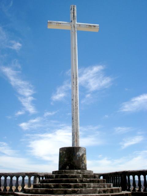 Cross overlooking San Juan del Sur