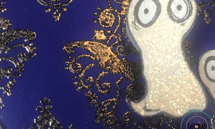 Creating a Halloween Damask Background