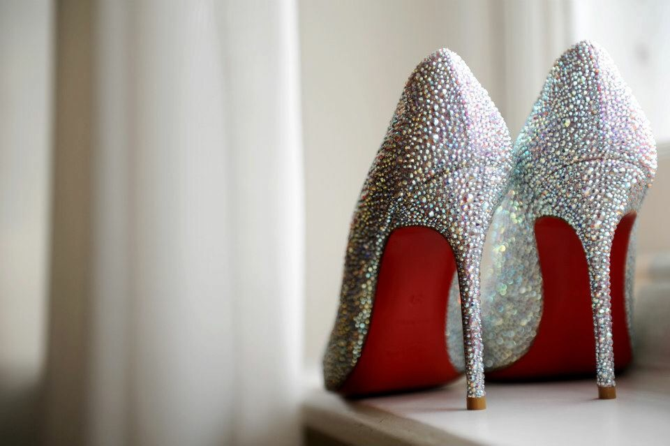 Christian Louboutin Swarovski shoes