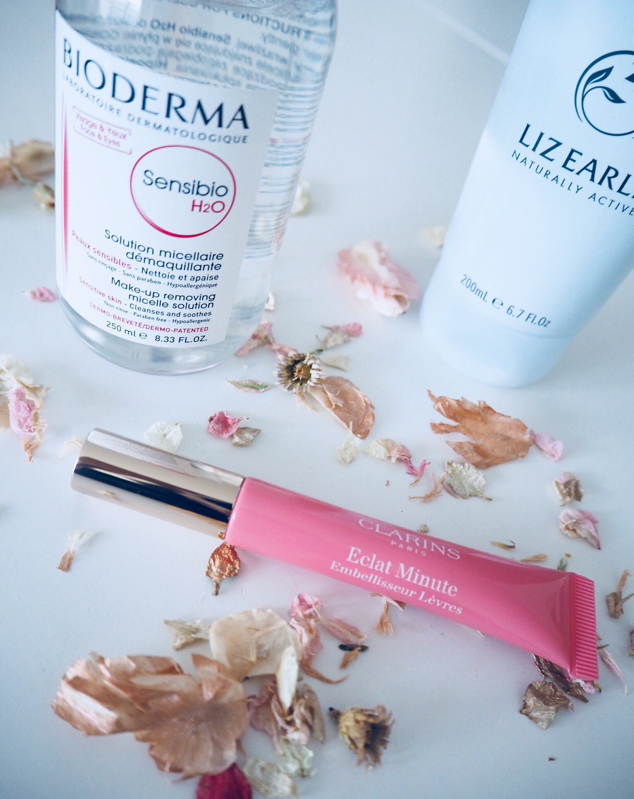 Things I Believe In This Week: Clarins, Bioderma & Liz Earle