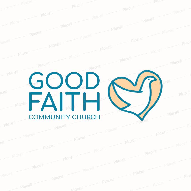 church logo generator with