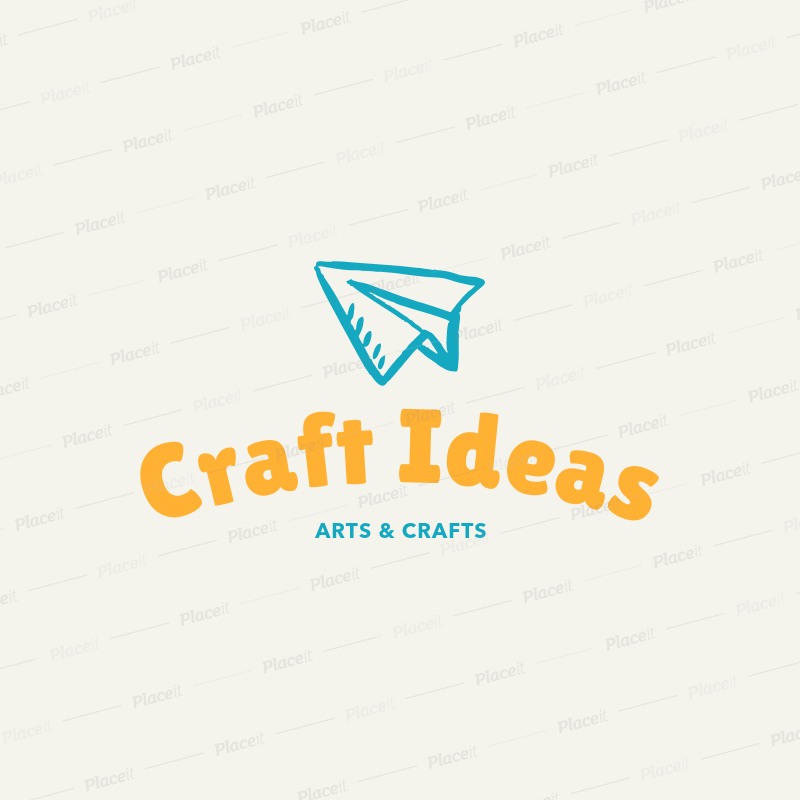 Placeit Minimalist Arts And Crafts Logo Template