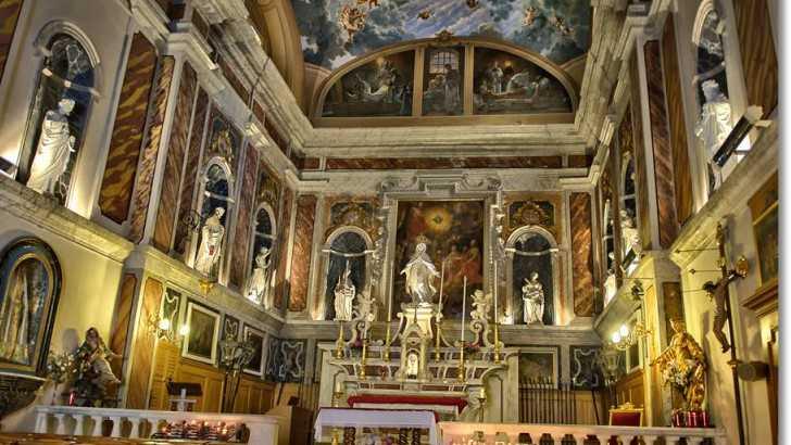 La Chapelle De La Misricorde Chapelles Nice Nice