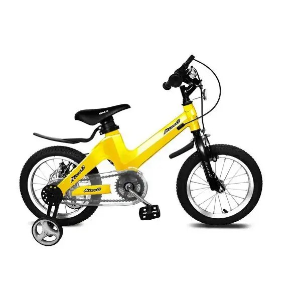 kids bike yellow