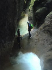très beau passage dans ce canyon