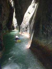 plus beau canyoning vers nice