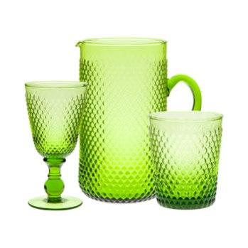 Cristalería verde