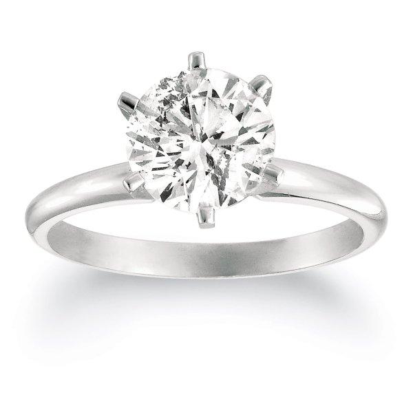 Diamond Solitaire Ring Diamond Solitaire Rings