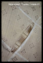 Cut through the centre of my sewing to make the slit, clipped to my corners, and turned my pocket flaps to the inside.