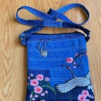 Lányos Tessa Tablet Bag - Designin' Denim Collection!