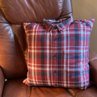 Custom Memory Pillow made from your loved one's shirt