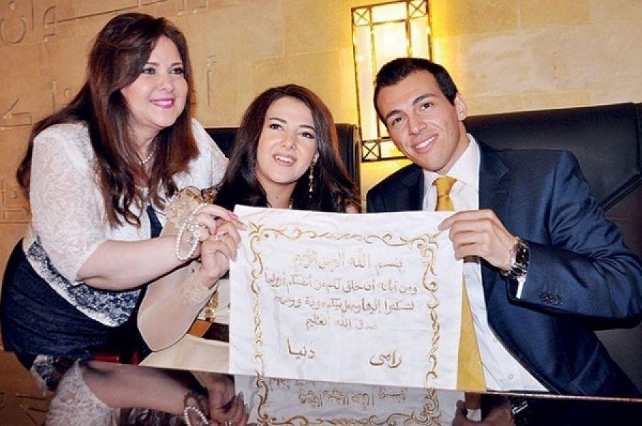 صور كتب كتاب افرحى يا عروسة حتبقى مدام نايس