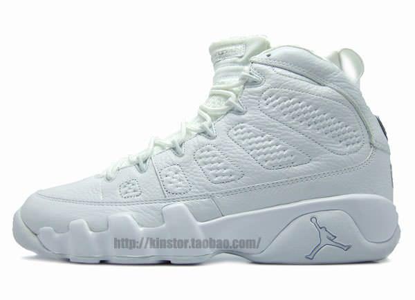 "low priced c2ce8 60ebb ... Retro ""25th Anniversary"" 302370-104 (2010) Air Jordan 9 ""Silver  Anniversary"" ."