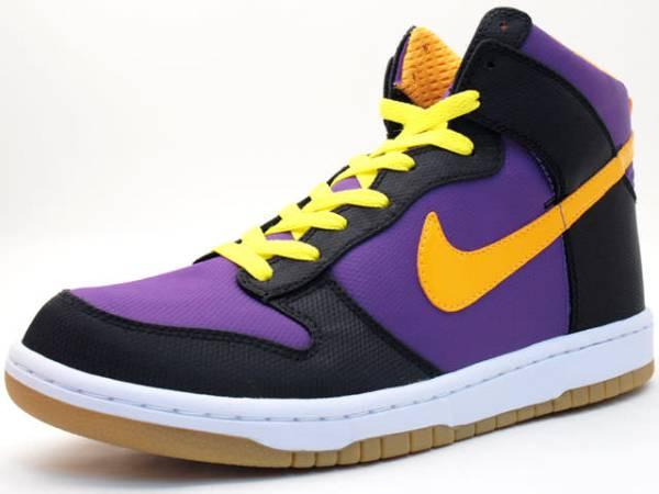 wholesale dealer caeee 81ac0 Nike Dunk High Supreme '08 Purple/Yellow-Black | Nice Kicks