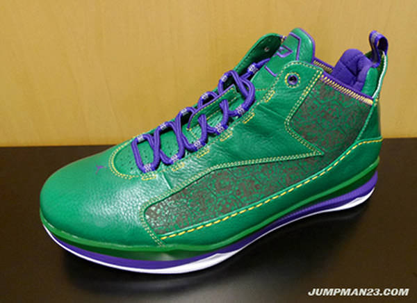 best website e3e21 10675 Air Jordan CP3.III - Mardi Gras | Nice Kicks