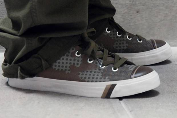 Stussy x Haze x PRO-Keds Royal Plus Brown & Tan