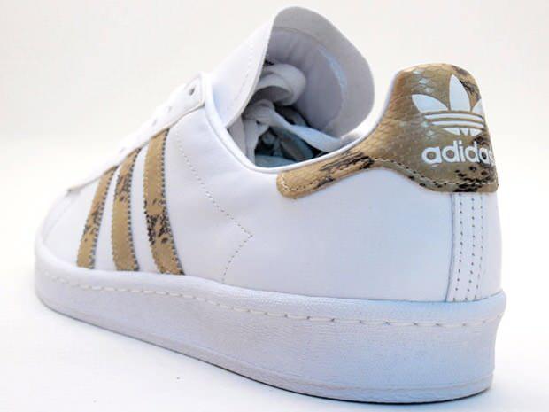 adidas Campus 80s White/Snake