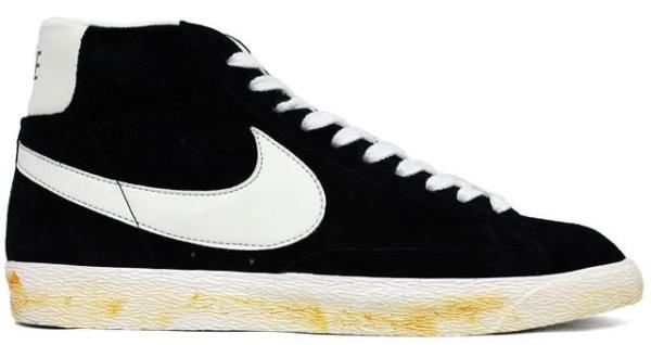 reputable site d72bd fcd86 Nike Blazer Hi Vintage Black/White | Nice Kicks