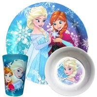 Disney Toddler Dishes Dinnerware Disney Frozen 3 pc Set