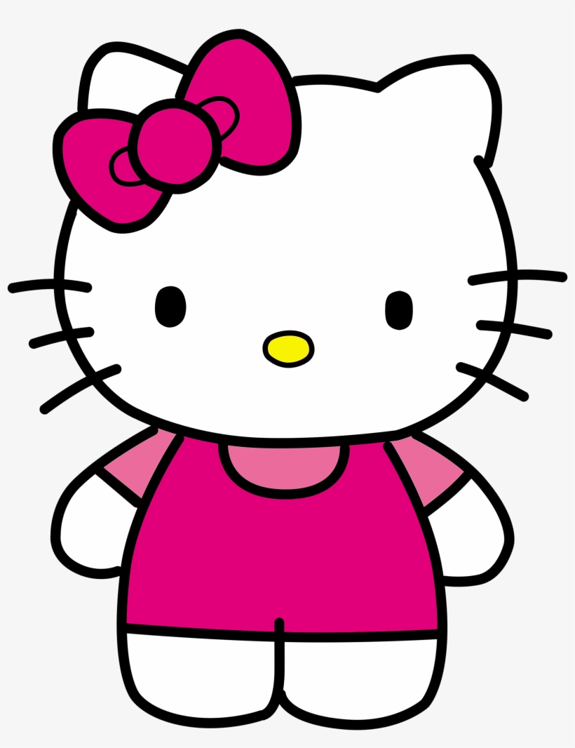 Hello Kitty Png : hello, kitty, Hello, Kitty, Transparent, 2362x2931, Download, NicePNG