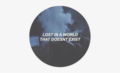 Sticker Tumblr Aesthetic Quote Quotes Blue Png Aesthetic Blue Aesthetic Quotes Transparent PNG 419x419 Free Download on NicePNG
