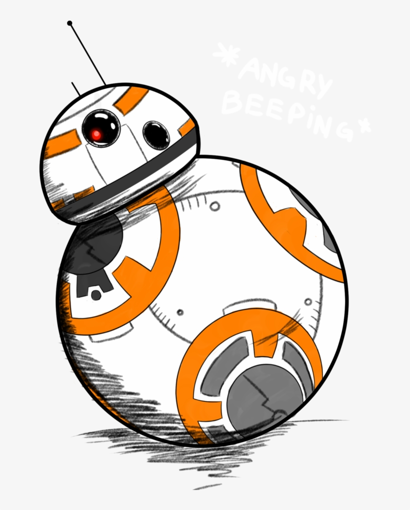 Bb8 Drawing : drawing, Download, Drawing, Transparent, 1024x993, NicePNG