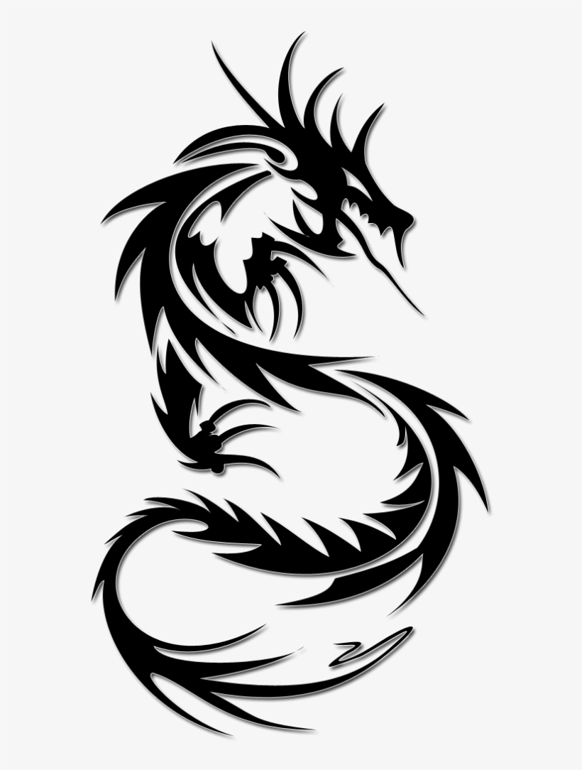 Simple Tattoo Png : simple, tattoo, Tattoo, Download, Simple, Dragon, Tattoos, Designs, Transparent, 600x1017, NicePNG