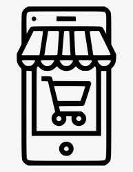 Online Shop Store Ecommerce Cart Mobile Comments Icon Online Shop Png Transparent PNG 614x980 Free Download on NicePNG