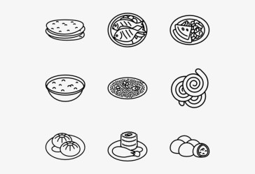Indian Food Indian Food Vectors Png Transparent PNG 600x564 Free Download on NicePNG