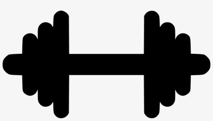 Gym Dumbbell Weight Strong Comments Black Icon Fitness Png Transparent PNG 980x510 Free Download on NicePNG