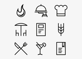 Restaurant Icons Chef Icon Free Vector Transparent PNG 600x564 Free Download on NicePNG