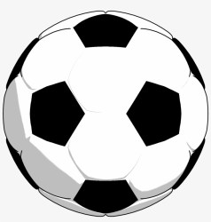 Black White Soccer Ball Clipart Png Picture Soccer Ball Clipart Png Transparent PNG 1339x1340 Free Download on NicePNG