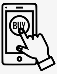 Mobile Online Store Shop Buy Sell Product Hand Gesture Online Shopping Icon Png Transparent PNG 778x980 Free Download on NicePNG