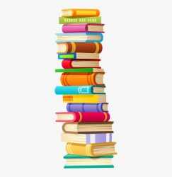 Books A Stack Of Them Stacks Of Books Cartoon Transparent PNG 352x800 Free Download on NicePNG