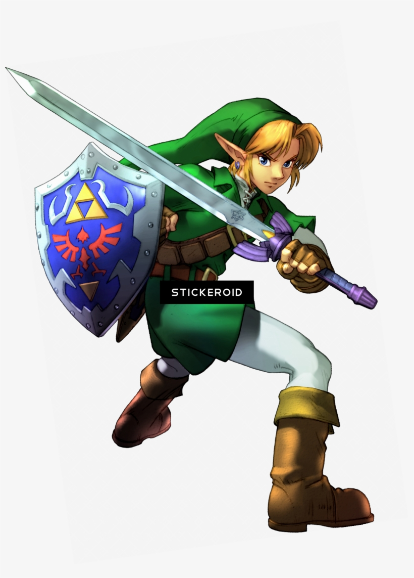 Link (the Legend Of Zelda) : legend, zelda), Zelda, Legend, Master, Sword, Transparent, 1549x2084, Download, NicePNG