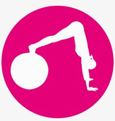 Icons Tandem Fitness Barre Fit Pink Fitness Icon Transparent Transparent PNG 1200x1200 Free Download on NicePNG