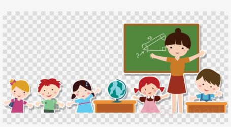 Teacher And Students Png Clipart Teacher Education Teacher And Student Cartoon Png Transparent PNG 900x450 Free Download on NicePNG